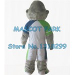 young grey gorilla Mascot Costume