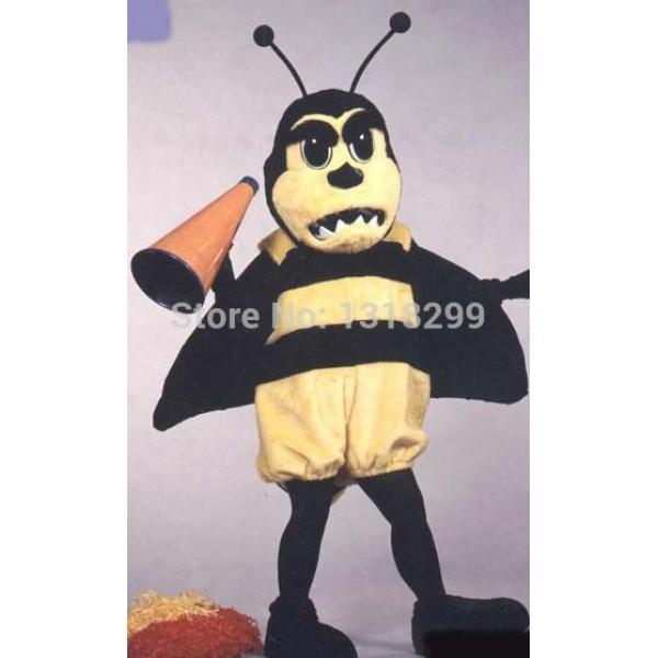 Buzzing Fighting Hornet bee Mascot Costume
