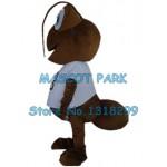 brown ant Mascot Costume
