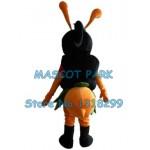 black bee Mascot Costume