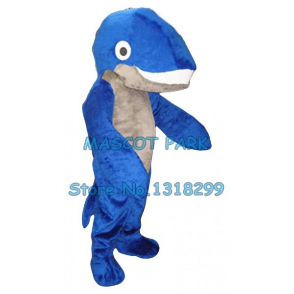 blue whale Mascot Costume