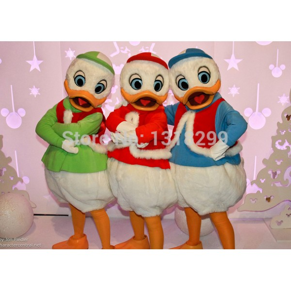 3 pcs duck Mascot Costume