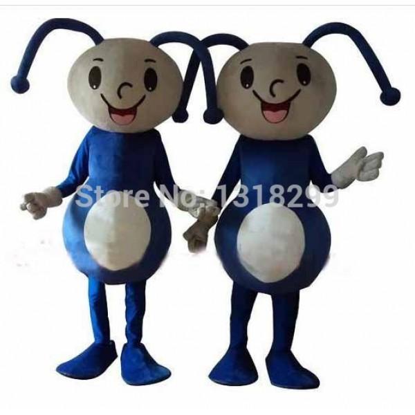 Blue Ant Mascot Costume