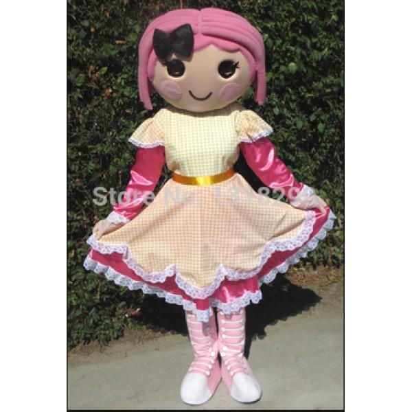 girl Birthday Party Mascot Costume