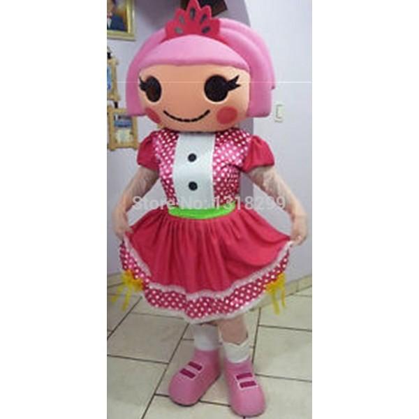 girl Jewels Sparkles Mascot Costume