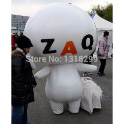 ZAQ doll man Mascot Costume