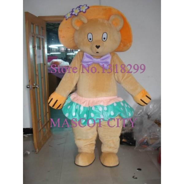 Lovely Bear Adult Cartoon Costume