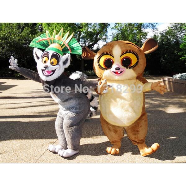 lemur mort Mascot Costume
