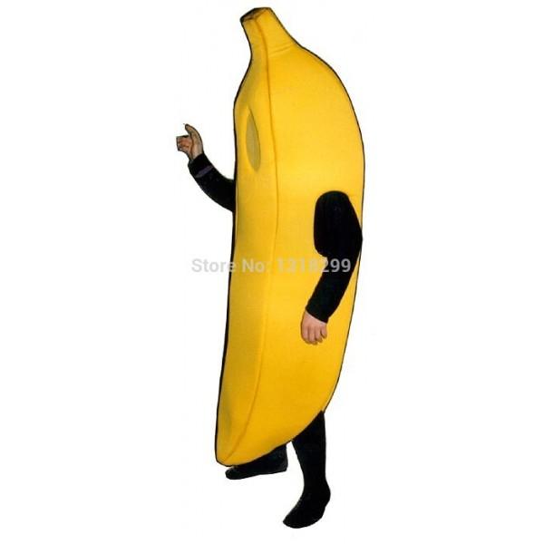 Big Yellow Banana Mascot Costume