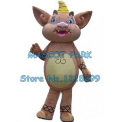 brown monster mascot costume
