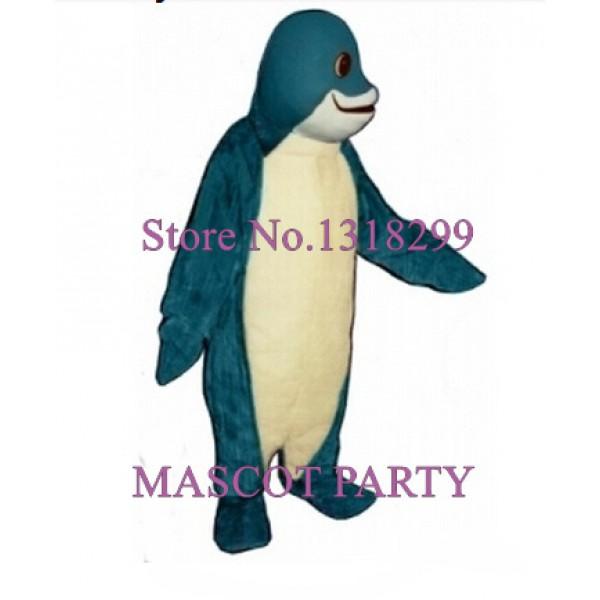 Blue Finney Fish adult costume
