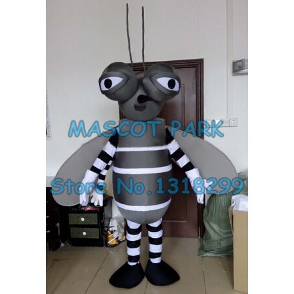 black mosquito Mascot Costume